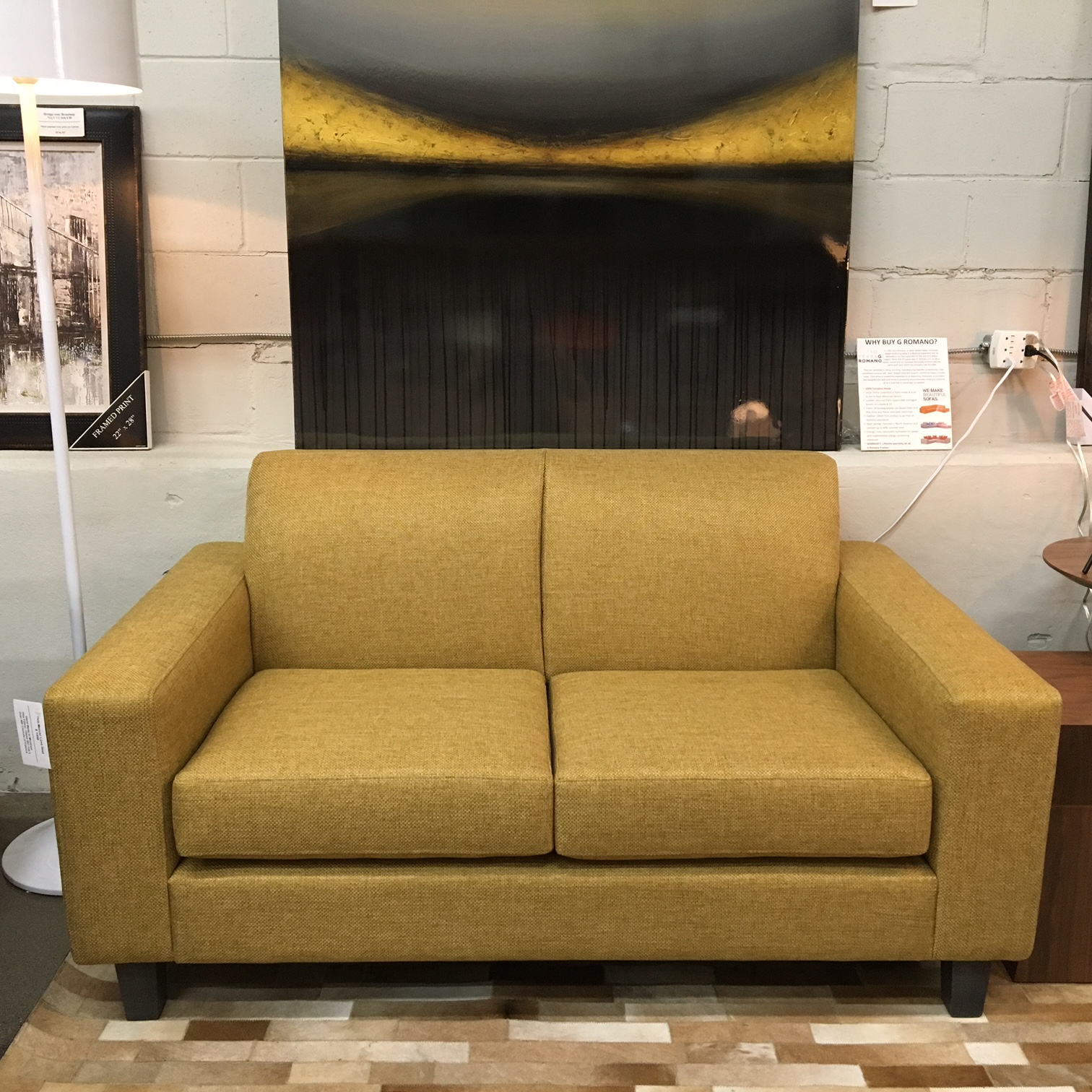 Contemporary Furniture Montreal Mercer Sofa Mikaza Meubles Modernes Montreal Modern
