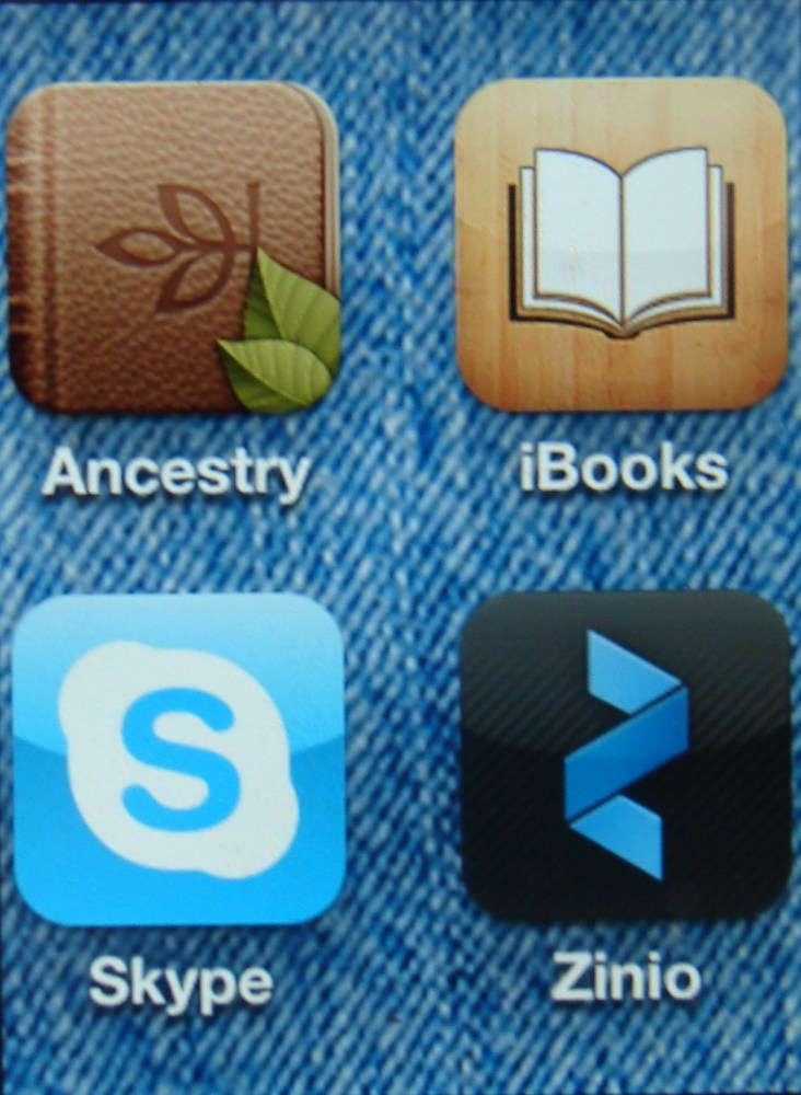 Portable Genealogy ... Ancestry.com's iPad/iPhone App ... An Update
