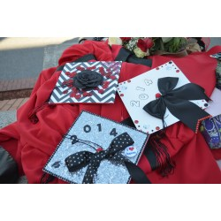 Small Crop Of Decorated Graduation Caps