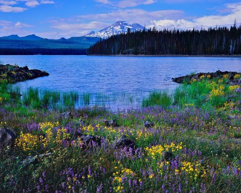 Elk Lake, Cascade Lakes Scenic Byway