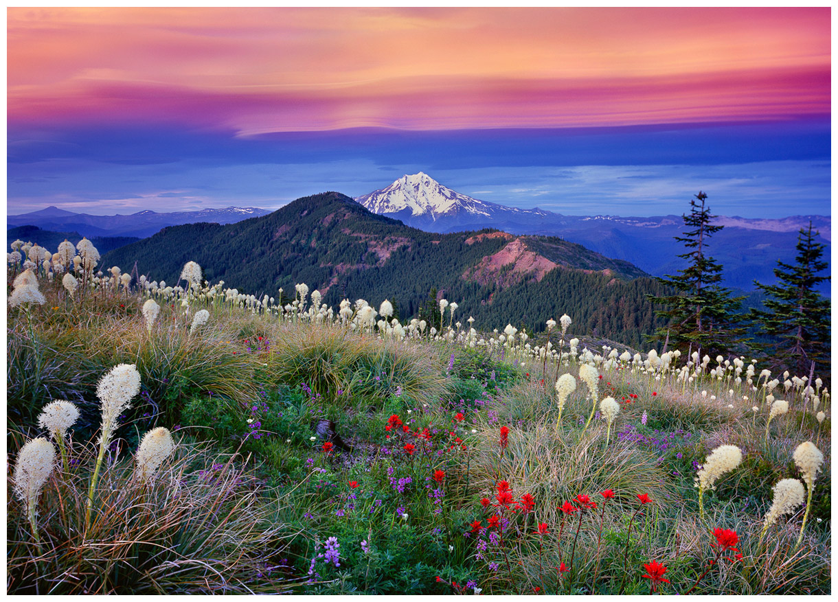 Fall Mountain Scenery Wallpaper Quot Fourth Of July Quot Mt Jefferson Greeting Cards 8 Pack
