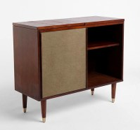 Draper Media Console: 50s-style console for your turntable ...