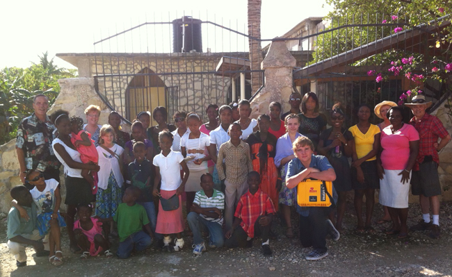 MIKEY AED donated to Haitian orphanage