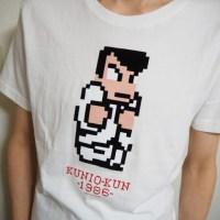 今日のゲームTシャツ:ファッションセンターしまむらの「熱血硬派くにおくん」Tシャツ