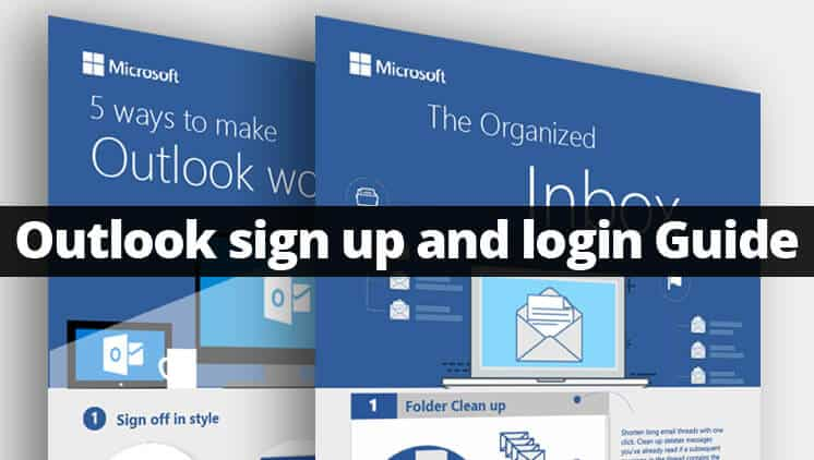 Outlook sign up and login - Create outlook account easily - MikiGuru - create outlook account