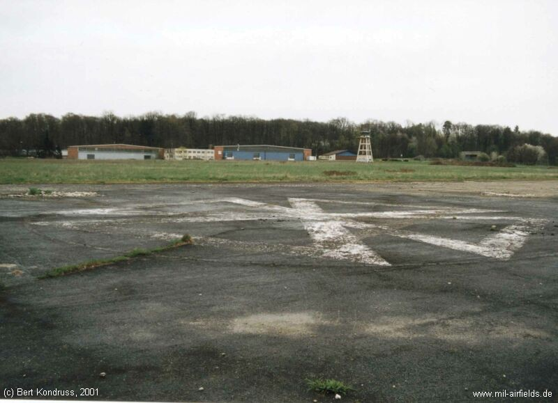 Front Yard Gate Göppingen Army Airfield | Military Airfield Directory