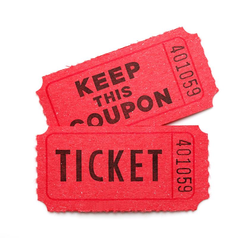 Raffle Ticket - Products - Milana Family Foundation