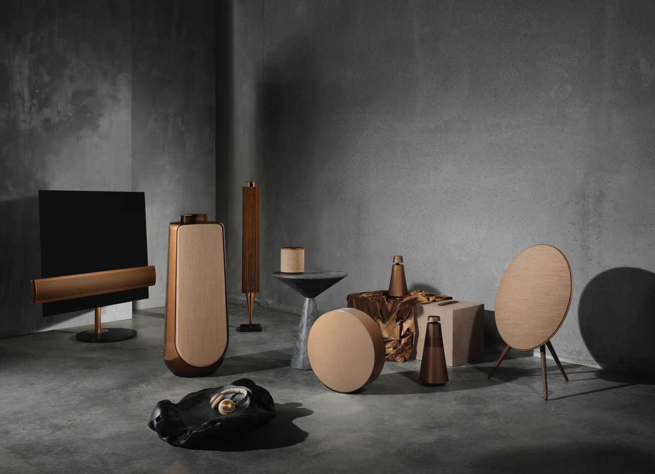 Bang And Olufsen Paris Bang Olufsen Completes Its Bronze Collection With Four New
