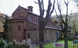 Veduta absidale di S. Vincenzo in Prato.