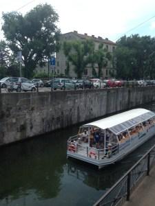 Il Mercato Metropolitano sul Naviglio Grande.