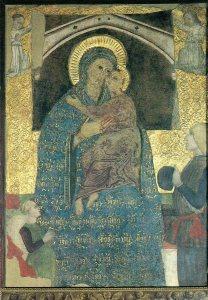 Madonna col Bambino di S. Satiro (affresco)