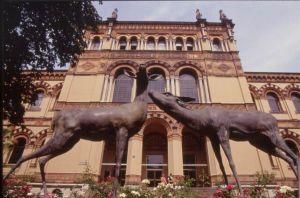 Facciata e ingresso principale del Museo Civico di Storia Naturale.