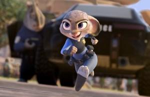 L'indiscussa protagonista del film, la coniglietta Judy Hopps