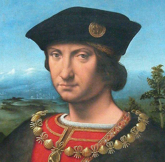 Charles d'Amboise di Andrea Solari