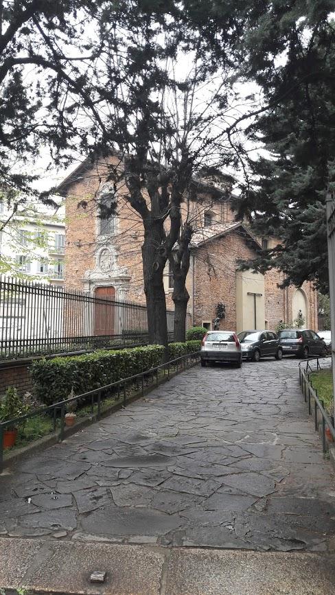 la chiesetta del Fopponino oggi (foto di Robert Ribaudo)