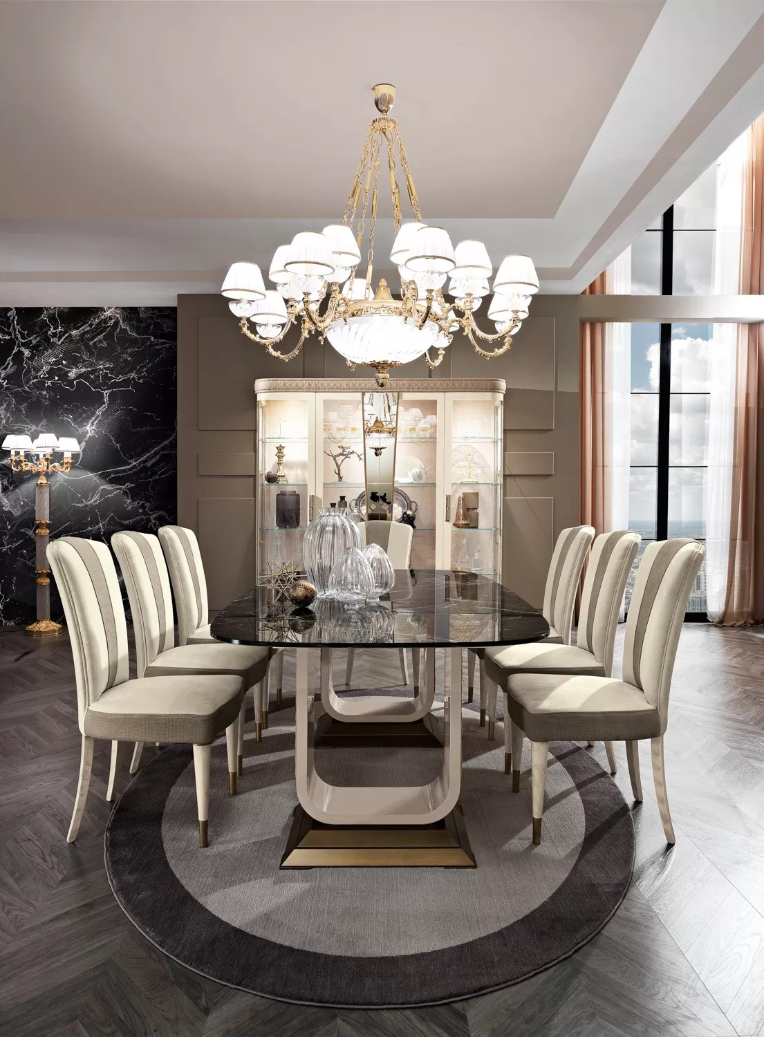 Contemporary Dining Room Furniture Milano Italian Furniture Lighting