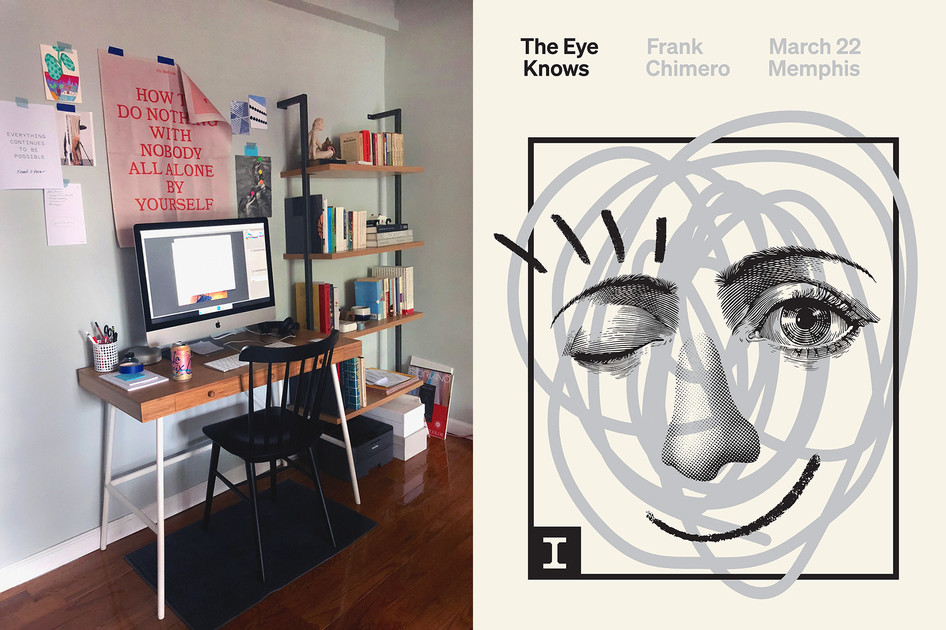 How Frank Chimero Designs a Poster The Work Behind The Work