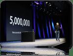Και official, o Jobs στο keynote του WWDC