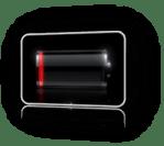 Warning: Low battery!