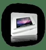 Το νέο MacBook Pro 17'' γυμνό.