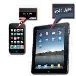Τι σημαίνει η ώρα στο iPhone και στο iPad ?