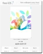 Freeios7, μια καλή πηγή για wallpapers