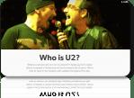 Τι φάση με τους U2 ;