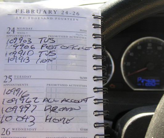 The Case of the Missing Log Book Mileage Trakker