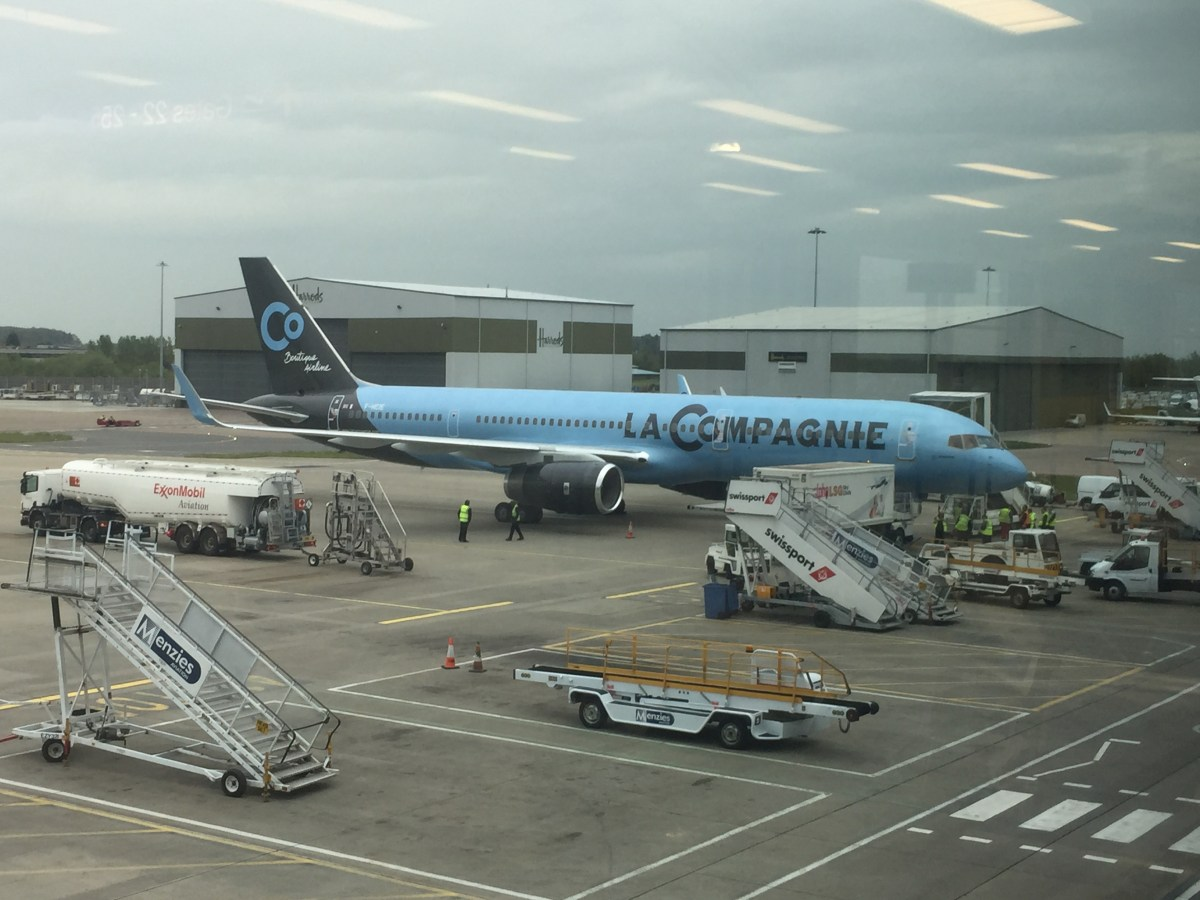 Trip Report: La Compagnie London Luton to Newark - Ground Handling