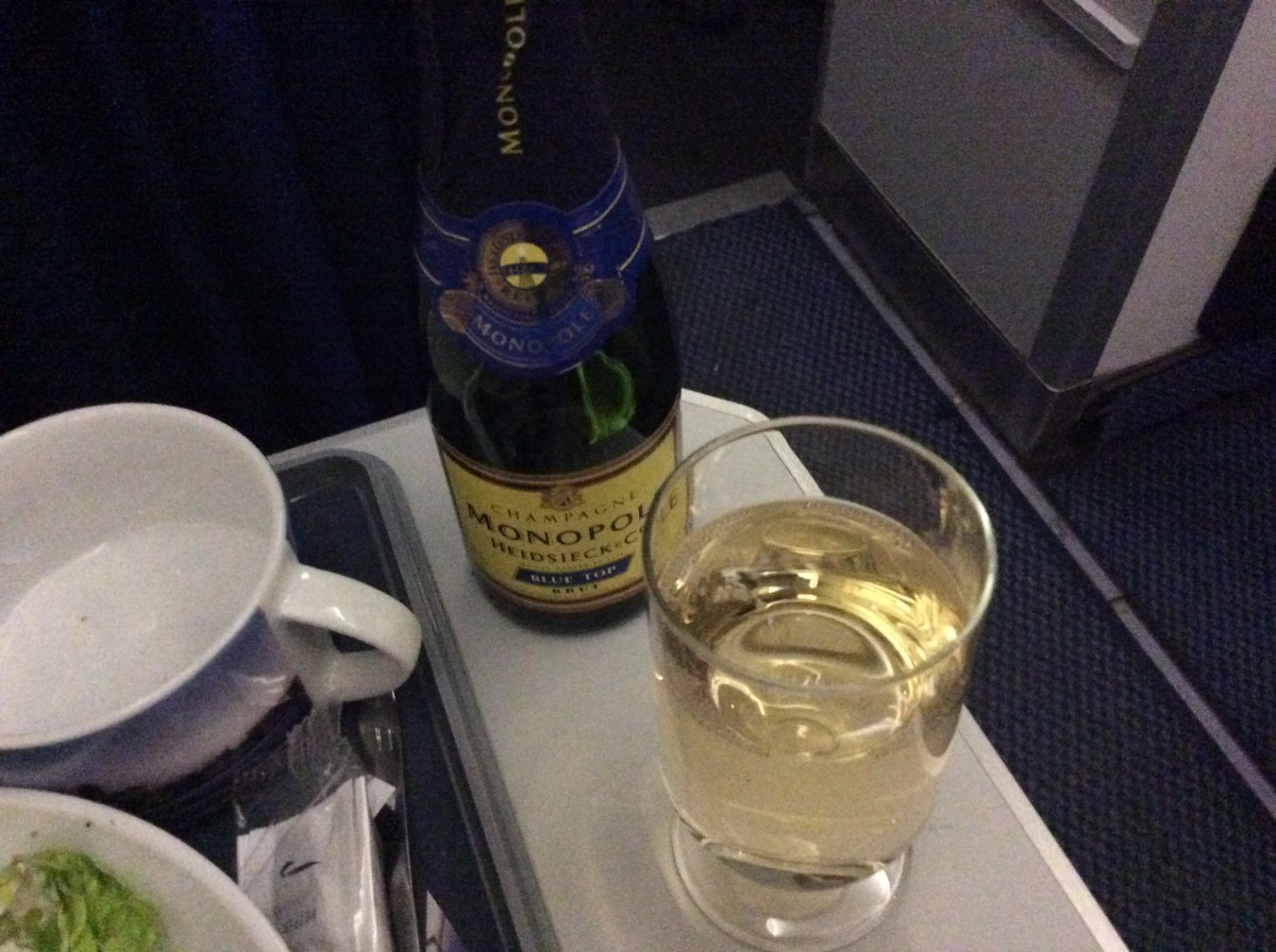 BA Club Europe, London to Hamburg