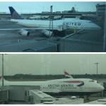 United BA 747s