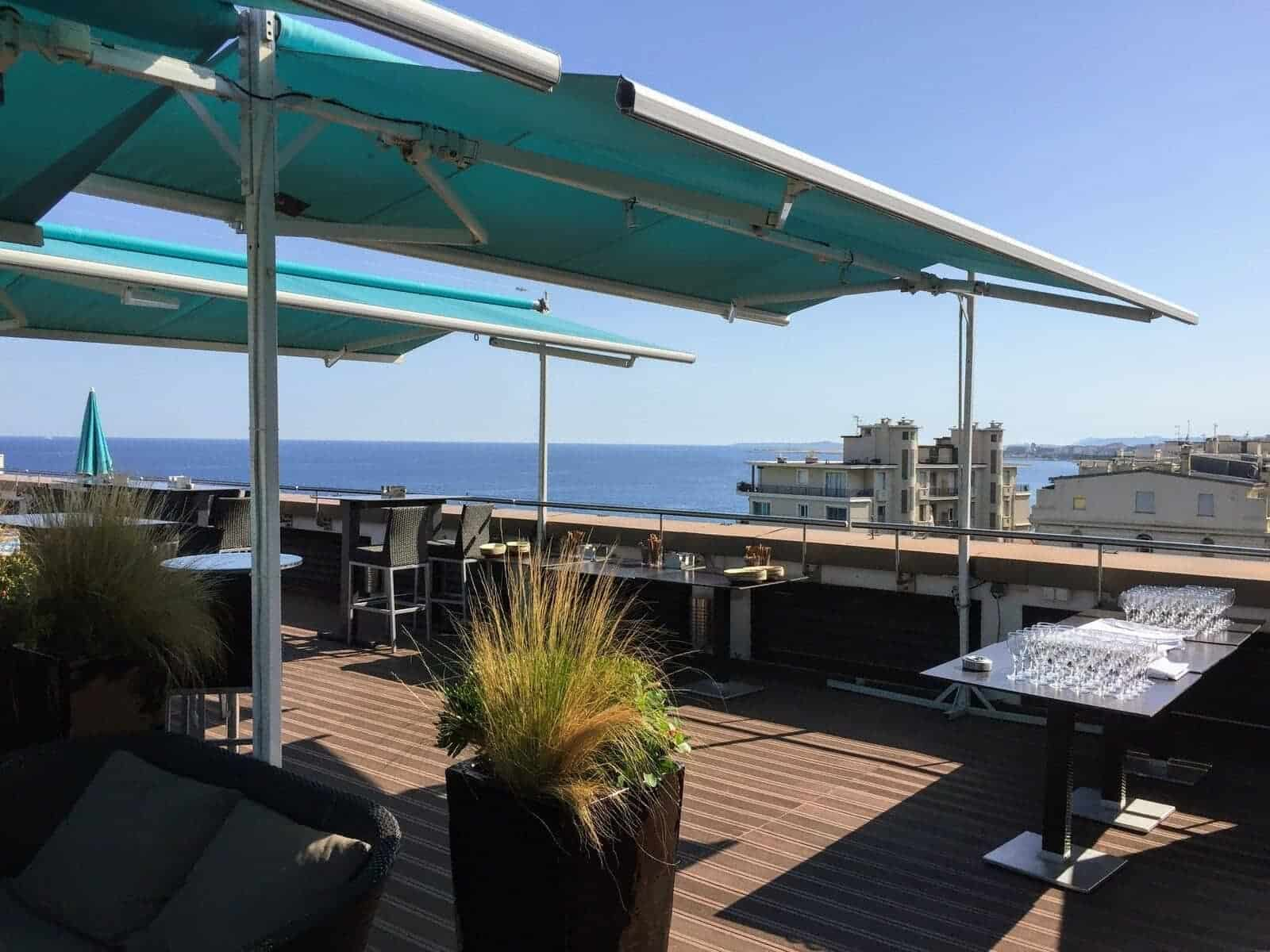Toit Terrasse Hotel Nice Avis Sur L Ac Hotel By Marriott Nice France Milesopedia