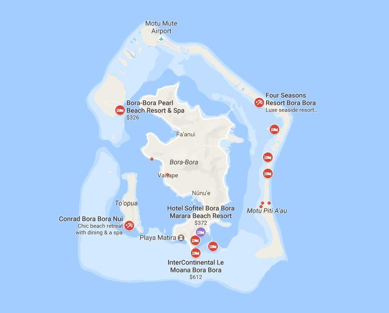 Maldives vs Seychelles vs Tahiti  Moorea  Bora Bora  Miles per Day