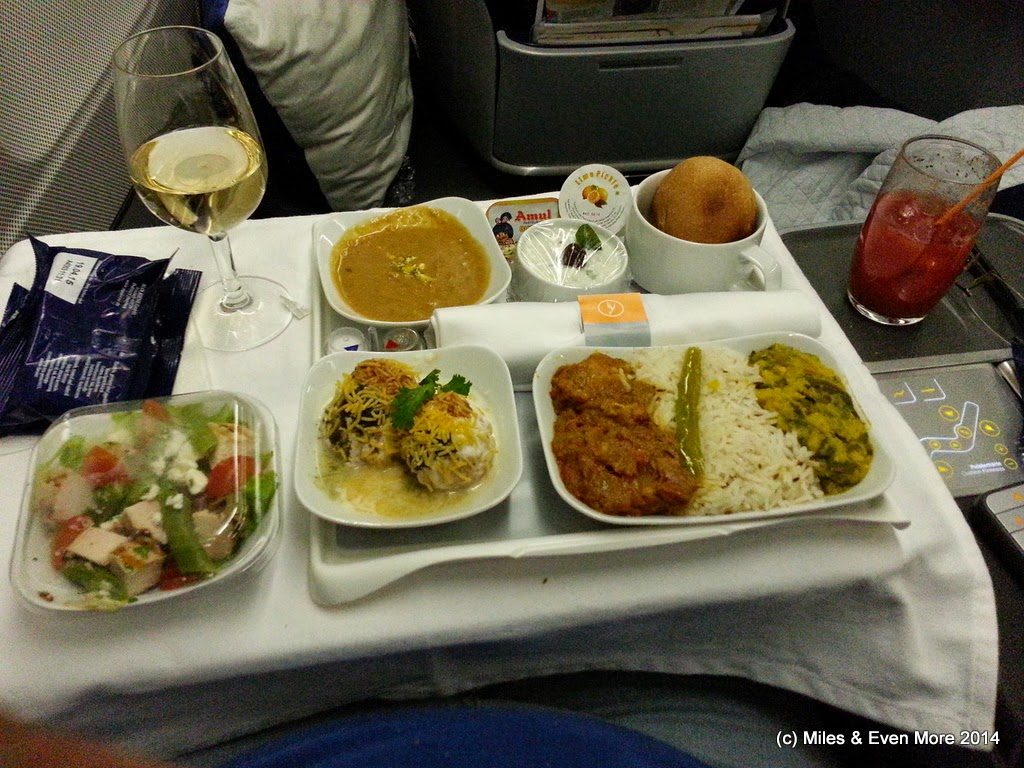Miles And More India Trip Report Maa Fra On Lufthansa A340 300 Business Class Miles