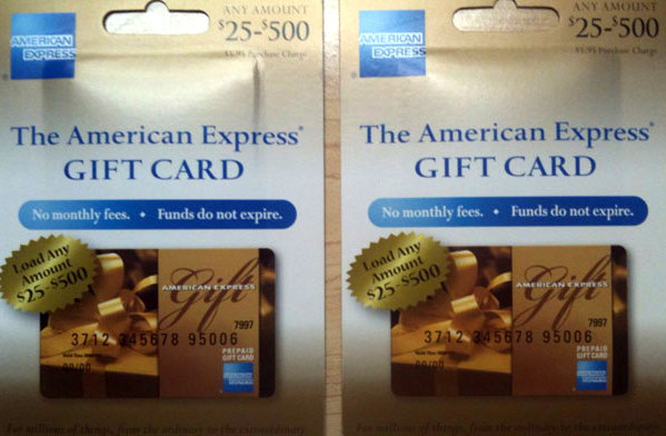 Deals on american express gift cards