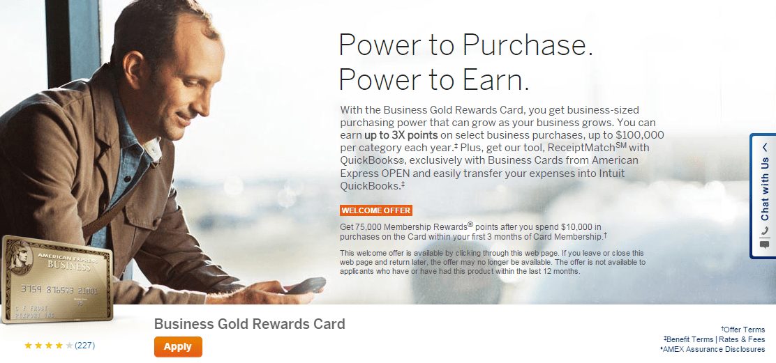 American Express Business Gold Rewards 75,000 Bonus Offer - How to ...