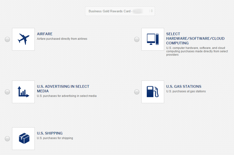 Amex Business Rewards Gold How to Choose Your 3x Category