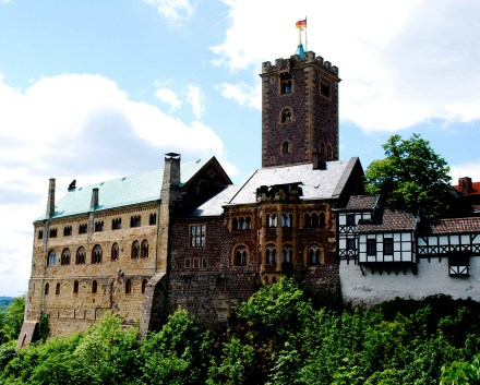 Schloss Wartburg, where Luther hid from his enemies.
