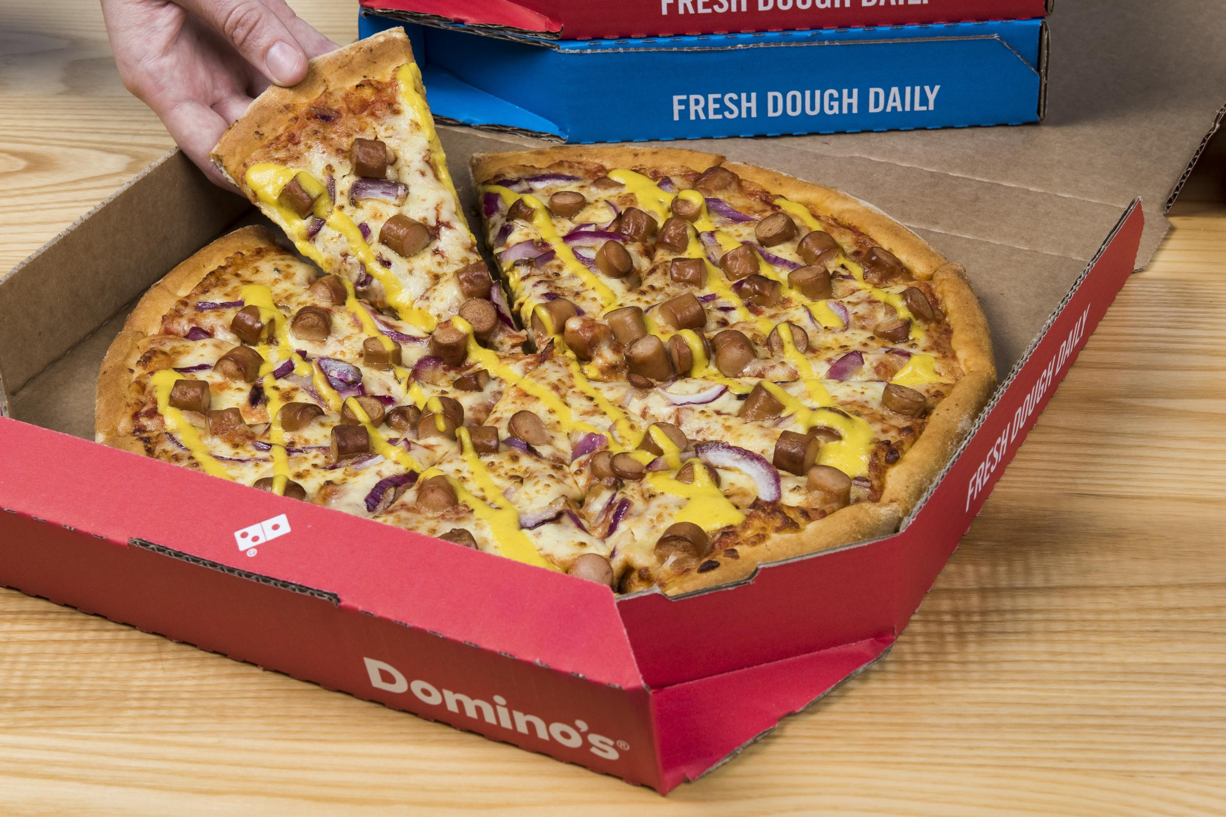 Dominos Pizza Giant Domino S To Open Neyland Store On Monday