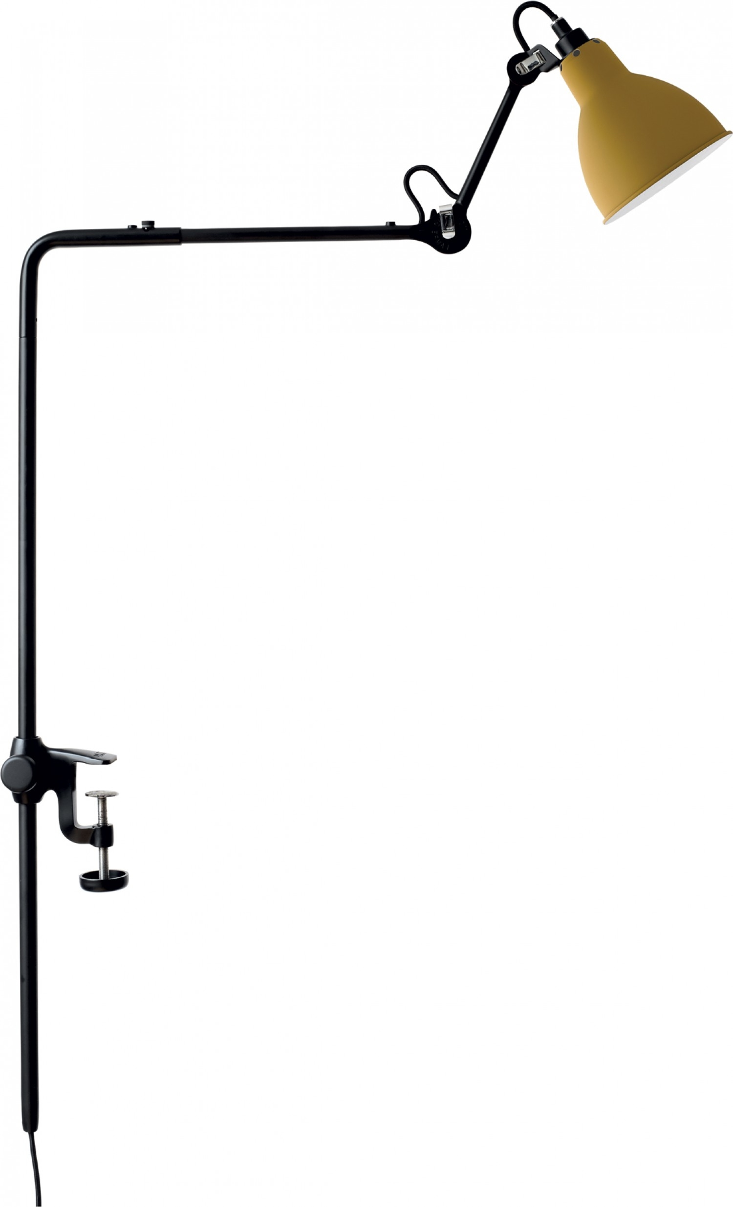 Lampe Gras N226 Dcw Éditions Lampe Gras Lamp With Clamp
