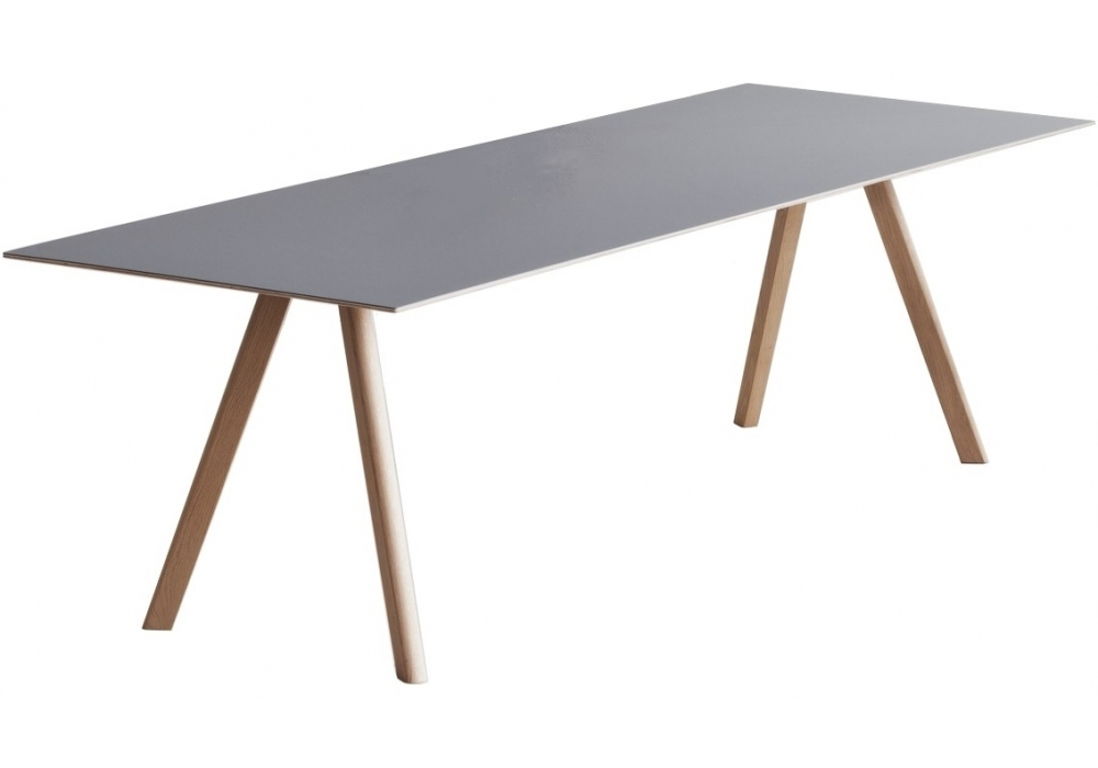 Esstisch Linoleum Copenhague Table Cph30 With Linoleum Top Hay - Milia Shop