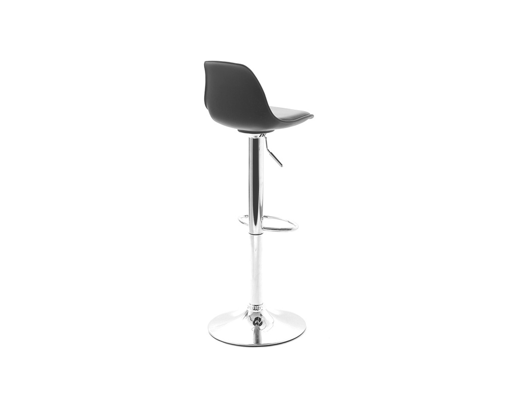Lot De 2 Tabourets De Bar Design Noirs Steevy Miliboo