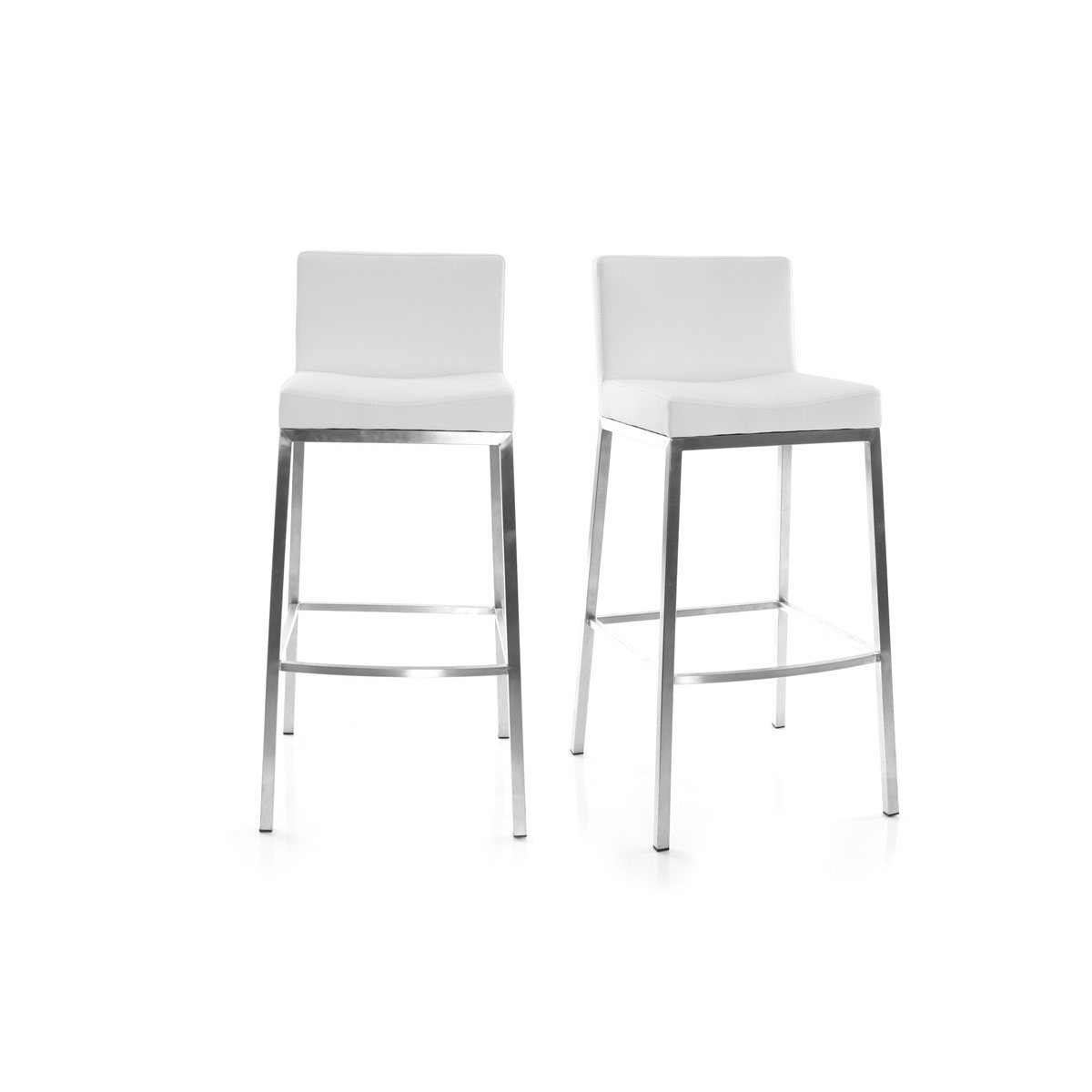 2 Tabourets Wave Tabouret De Bar Design Contemporain