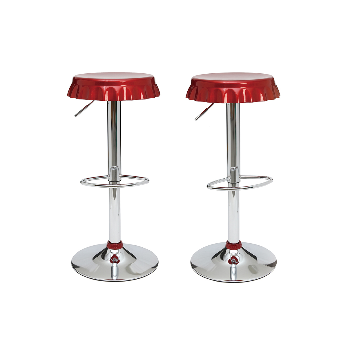 Tabourets De Bar New Cab Tabouret De Bar Rouge