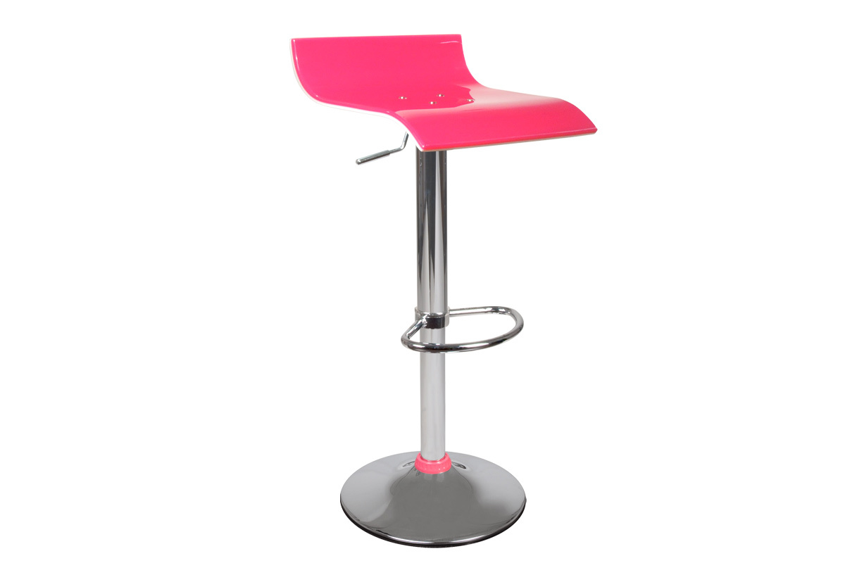 Miliboo Tabouret De Bar Tabouret De Bar Up To You Design Bicolore Rose Et Blanc