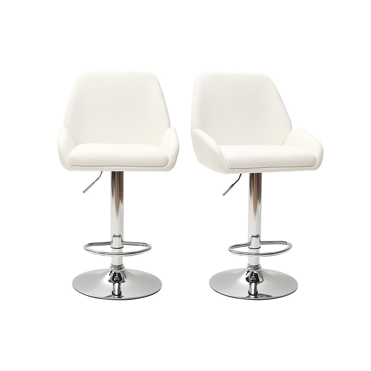 Lot De 2 Tabourets De Bar Clark Joker Lot De 2 Tabourets