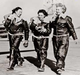 Bomber Girls — The Women Fliers of World War Two