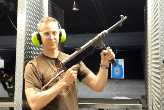 VIDEO — MHN Editor Test Fires WW2 Machine Gun