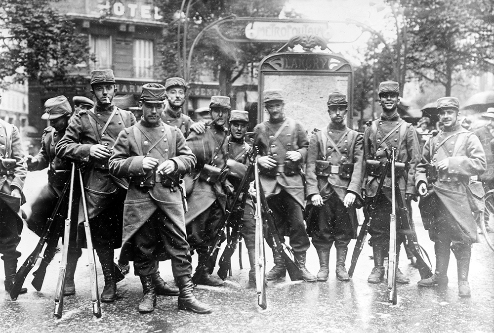 Les Américains – Seven U.S. Citizens Who Volunteered to Fight for France in WW1