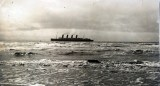 The Lusitania underway. (Image source: WikiCommons)